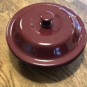 Pampered Chef Stoneware Casserole Dish
